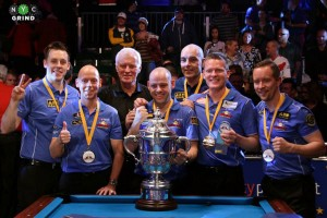 Mosconi Cup XXI @ Blackpool Tower Circus | Blackpool | United Kingdom